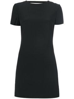 платье-мини с вырезом на спине Helmut Lang