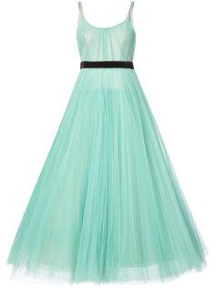 вечернее платье со складками J. Mendel