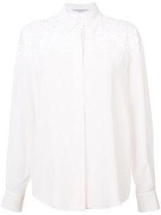 блузка с кружевом Stella McCartney