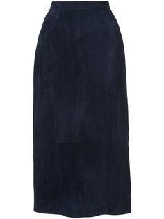приталенная юбка миди Oscar de la Renta