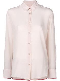полупрозрачная блузка на пуговицах  Paul Smith