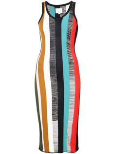платье-кокон в полоску Cinq A Sept