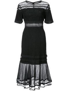 платье с прозрачной панелью Jonathan Simkhai