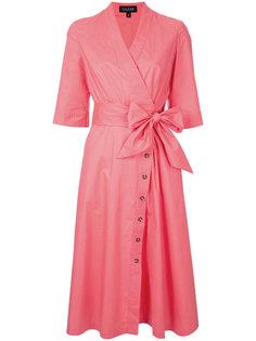 платье-рубашка с запахом  Saloni