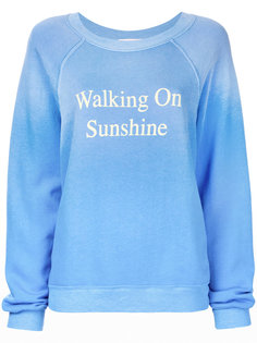 джемпер Walking On Sunshine Wildfox