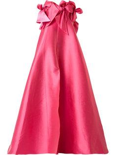 вечернее платье с бантами Alexis Mabille