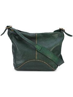 сумка на плечо с эффектом помятости Campomaggi
