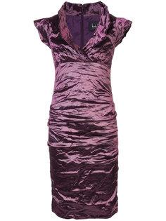 приталенное платье Nicole Miller