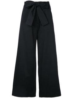 широкие брюки с бантом  Saloni