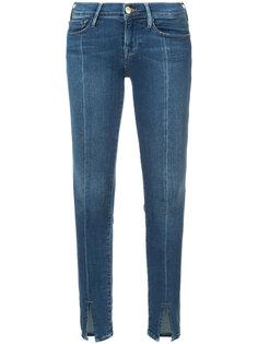 джинсы Le Skinny de Jeanne с разрезами Frame Denim