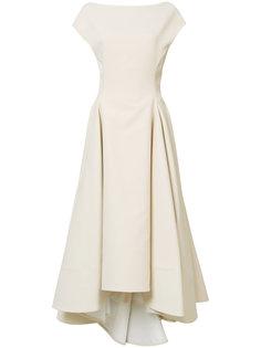 расклешенное платье миди Maticevski