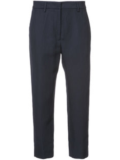 укороченные брюки с высокой талией Jil Sander