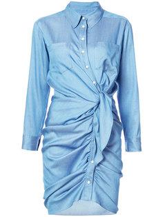 платье Sierra со сборками Veronica Beard
