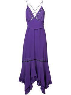 платье с драпировкой Derek Lam