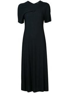 платье миди с драпировкой Derek Lam