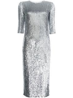 платье миди с пайетками Jeffrey Dodd