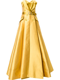 belted jacket gown Alexis Mabille