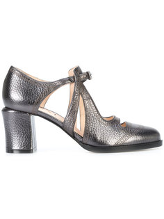 туфли-лодочки с вырезными деталями Fendi