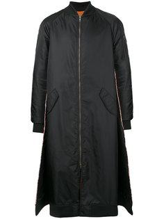 long pleated coat Moohong