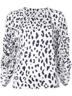 блузка с узором Tibi