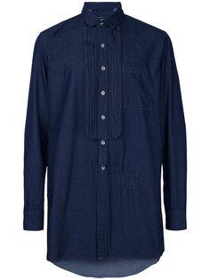 removable embellish shirt Maison Mihara Yasuhiro
