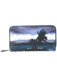 кошелек Hawaii с круговой молнией Givenchy