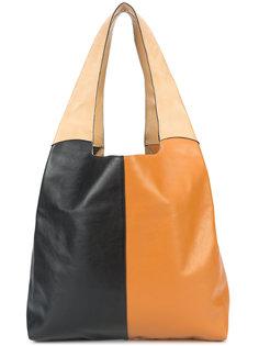 сумка-шоппер с контрастным дизайном Hayward