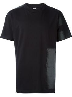 футболка с панельным дизайном Hood By Air