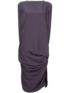 платье с драпировкой  Rick Owens
