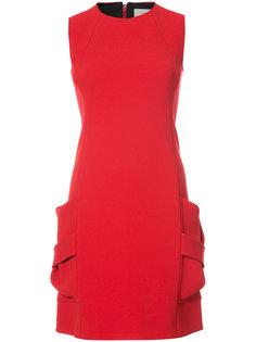 платье с боковыми карманами Victoria Beckham
