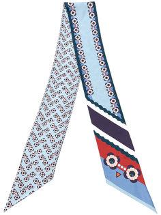 удлиненный шарф Flowers Fendi