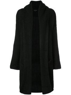 текстурированный кардиган-пальто Theperfext