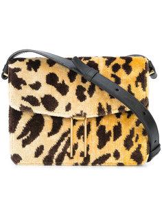 мини сумка через плечо с леопардовым узором Hayward