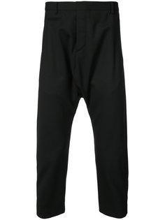 брюки с заниженной проймой R13