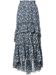 юбка макси с оборками Ulla Johnson