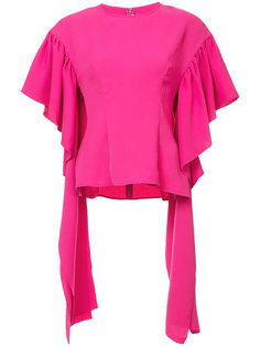 блузка Kara с оборками Rejina Pyo