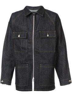 джинсовая куртка на молнии Fear Of God