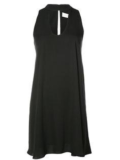 платье с чокером без рукавов Amanda Uprichard