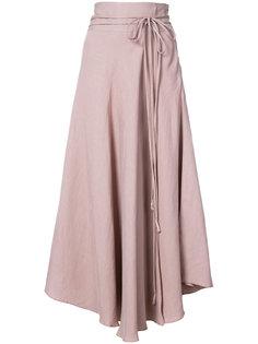 асимметричная юбка с поясом Apiece Apart