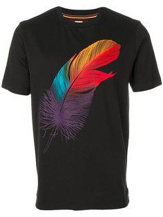 футболка с принтом пера Paul Smith