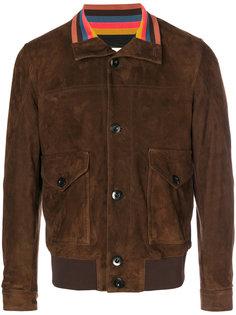 куртка-бомбер на молнии Paul Smith