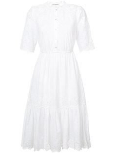 расклешенное платье с вышивкой Ulla Johnson