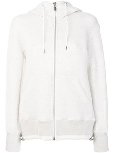 drawstring waist hoodie Sacai