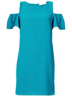 платье с вырезными деталями на плечах Amanda Uprichard