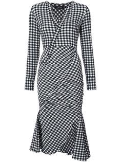 платье в клетку Rachel Comey