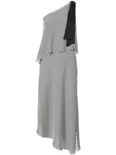 платье миди на одно плечо Halston Heritage