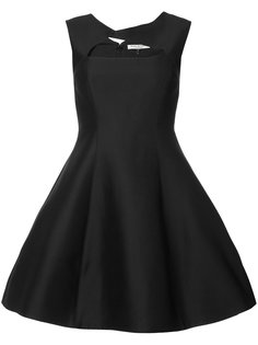 платье с пышной юбкой Halston Heritage