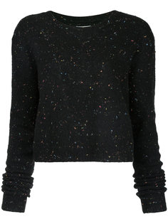 speckled cropped sweater Public School