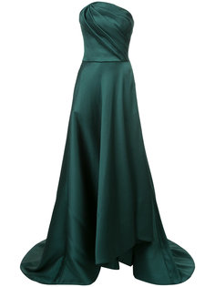 асимметричное вечернее платье без бретелек Jason Wu