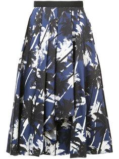 юбка миди с принтом Jason Wu